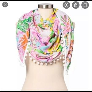 NWT Lilly Pulitzer for Target scarf